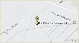 map cave de geneve | La Cave de Genève D Cave Map on